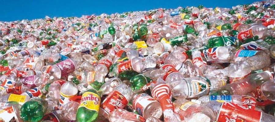 Desechos plásticos PET