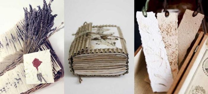 Ideas para hacer con cartón reciclado