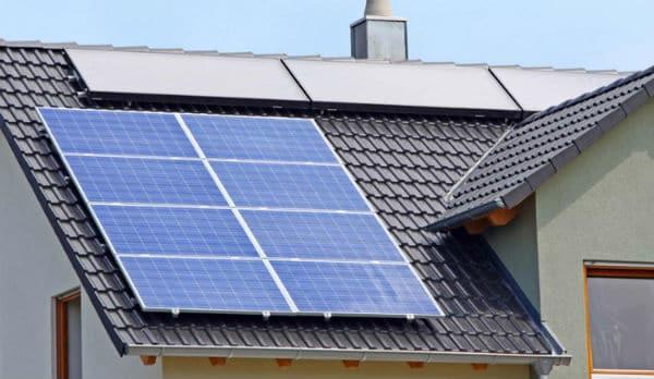 Beneficio de los paneles solares