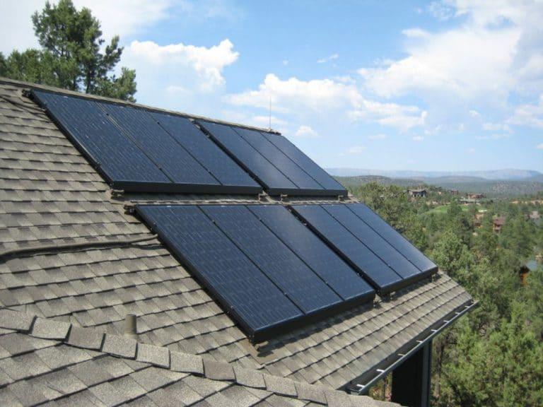 Panel solar in a box